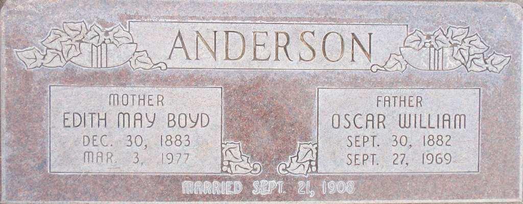 Oscar William Anderson