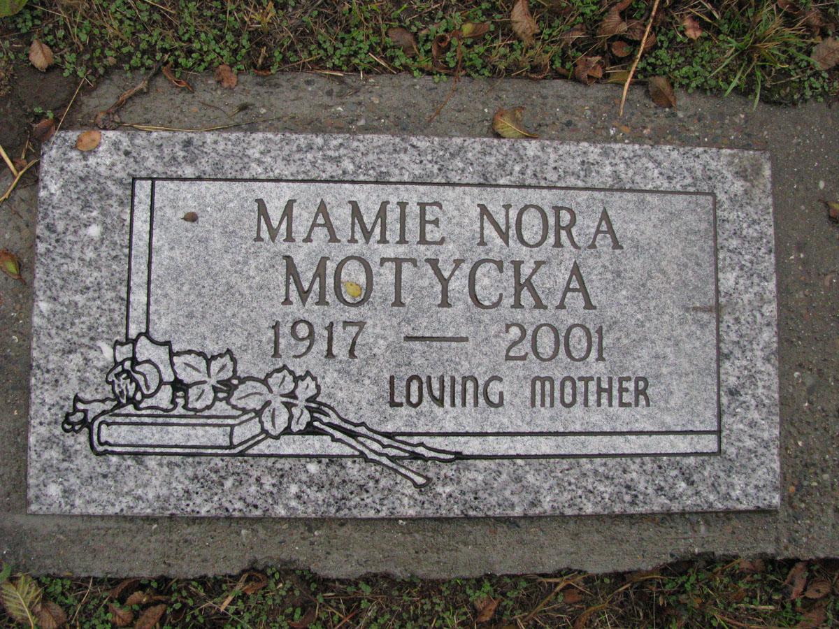 Mamie Nora <i>Hartzell</i> Motycka