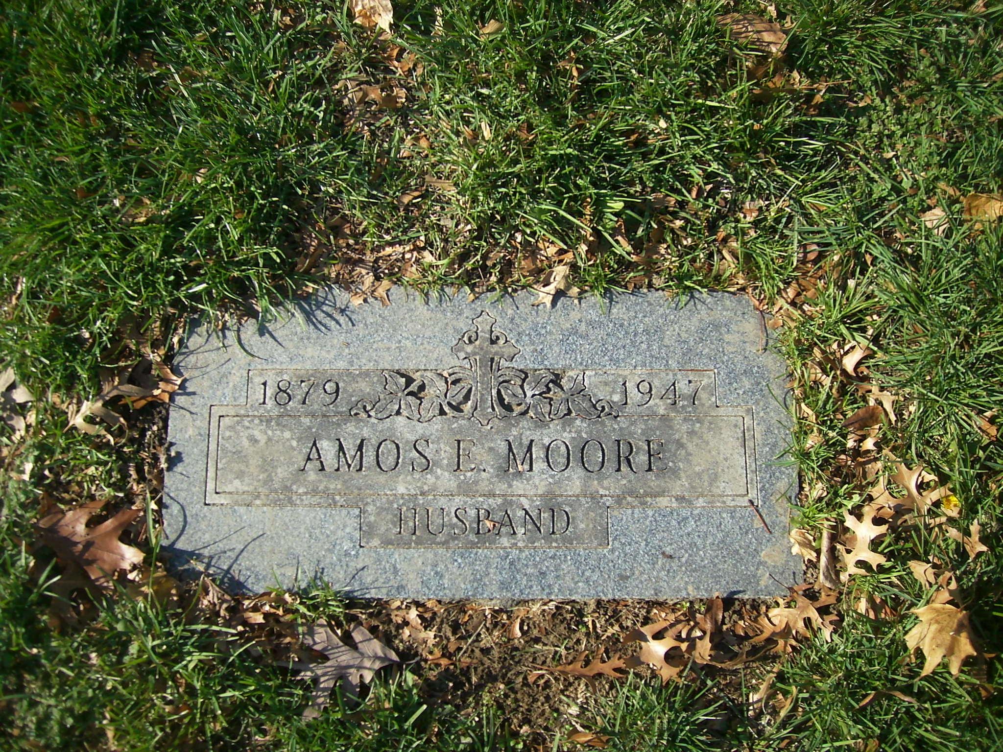 Amos E Moore