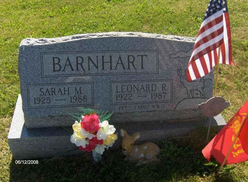 Leonard R Barnhart