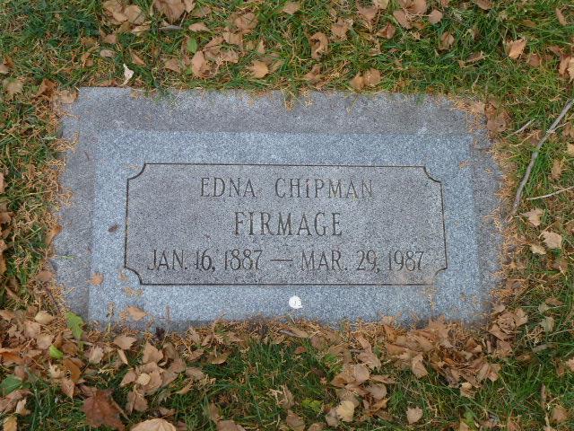 Edna Alice <i>Chipman</i> Firmage