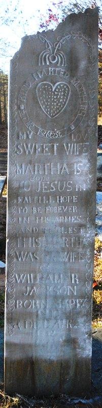 Martha <i>Foster</i> Jackson