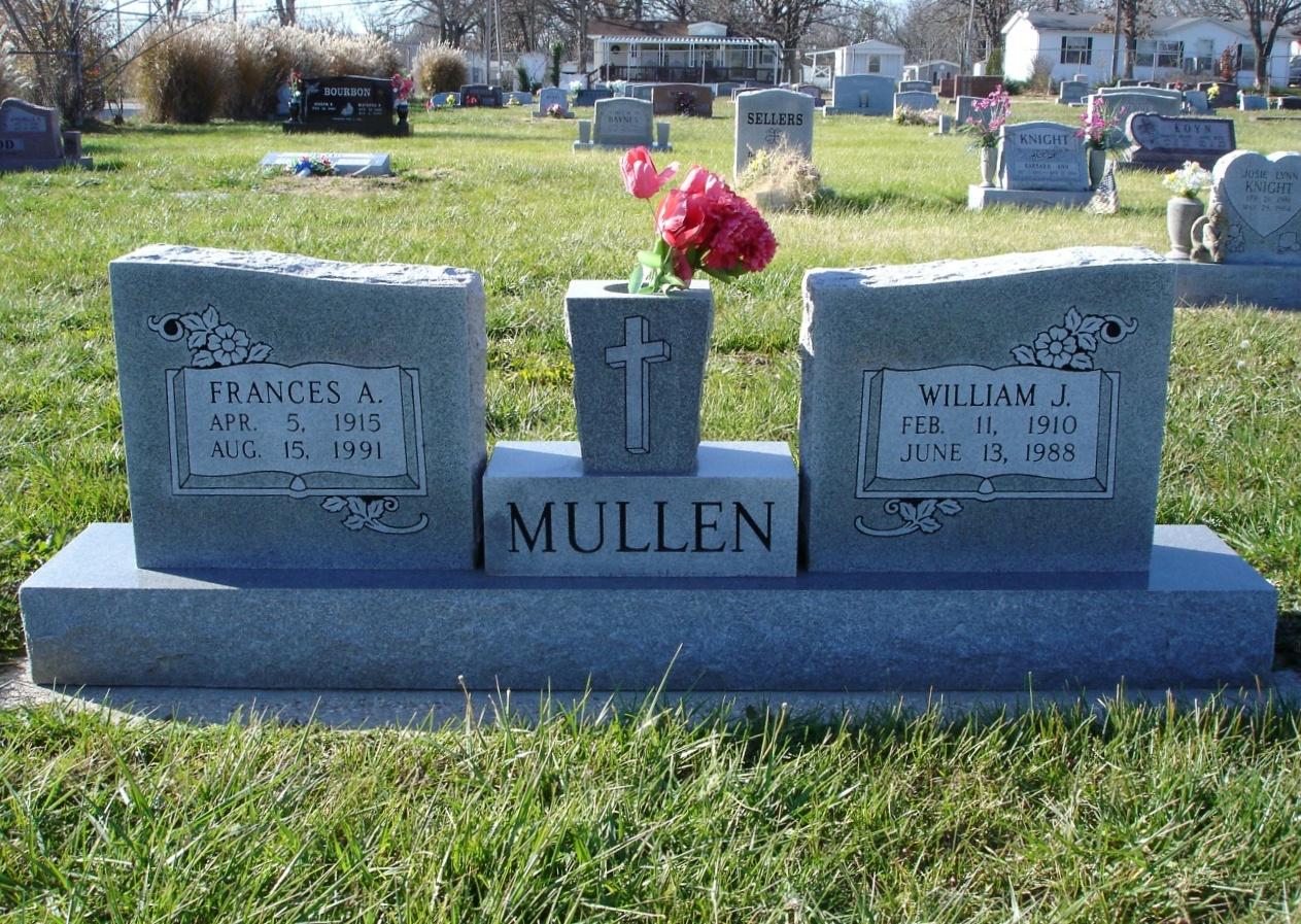 Frances Alice <i>Diehl</i> Mullen