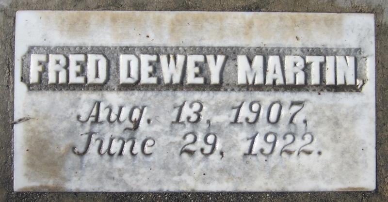 Fred Dewey Martin