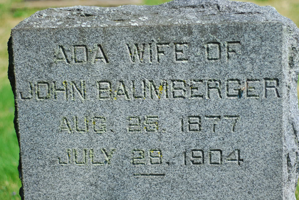 Ada Grace <i>Hubbard</i> Baumberger