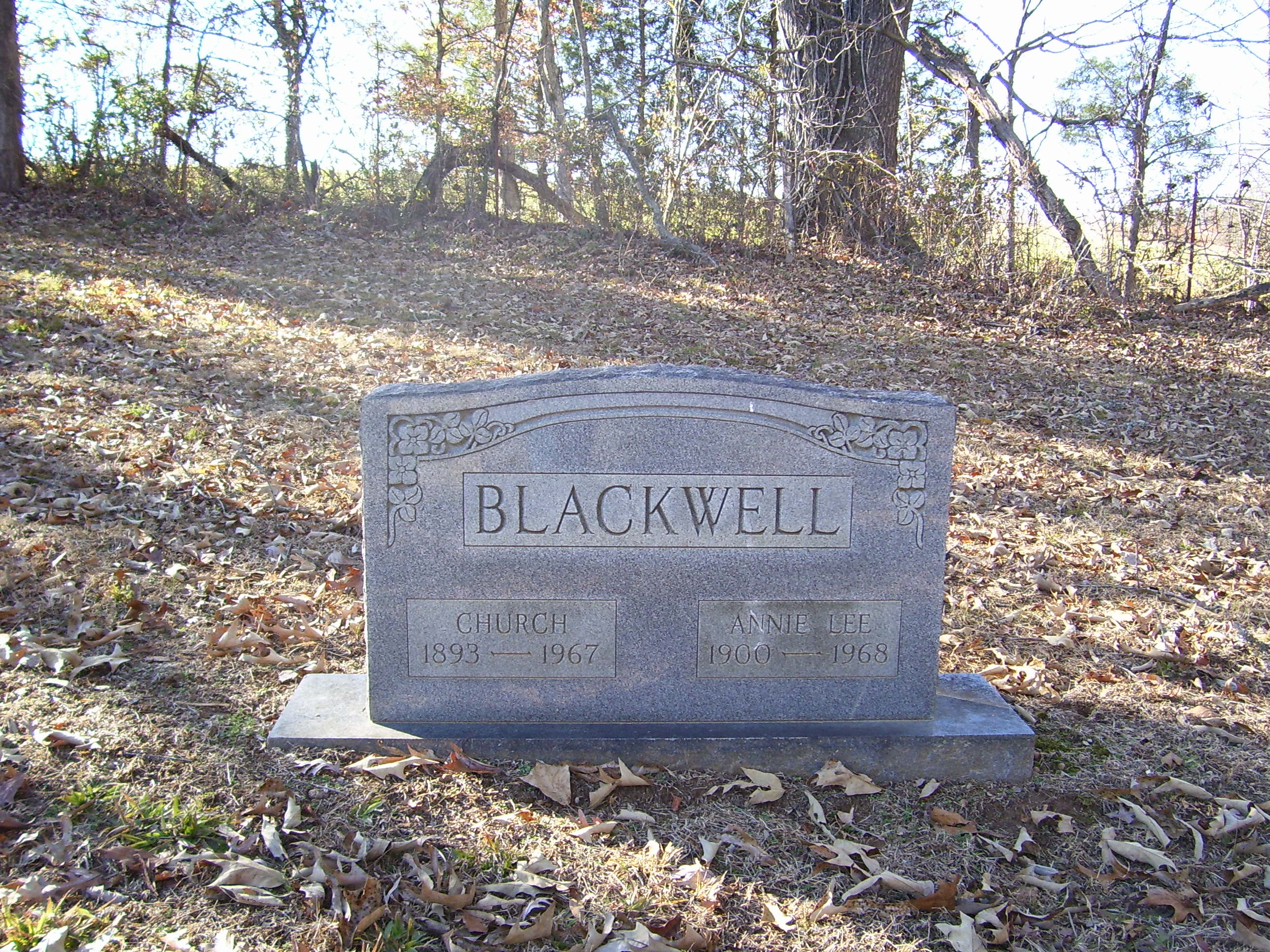 Annie Lee <i>Betty</i> Blackwell