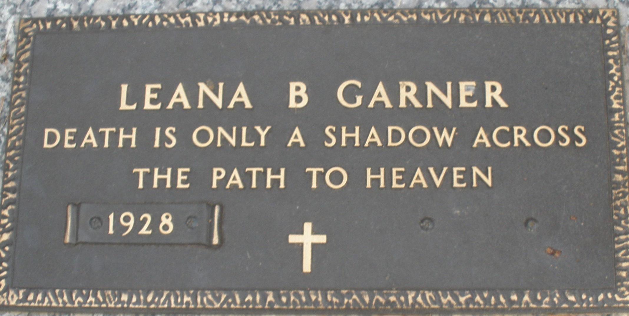 Leana Julina <i>Beamer</i> Garner