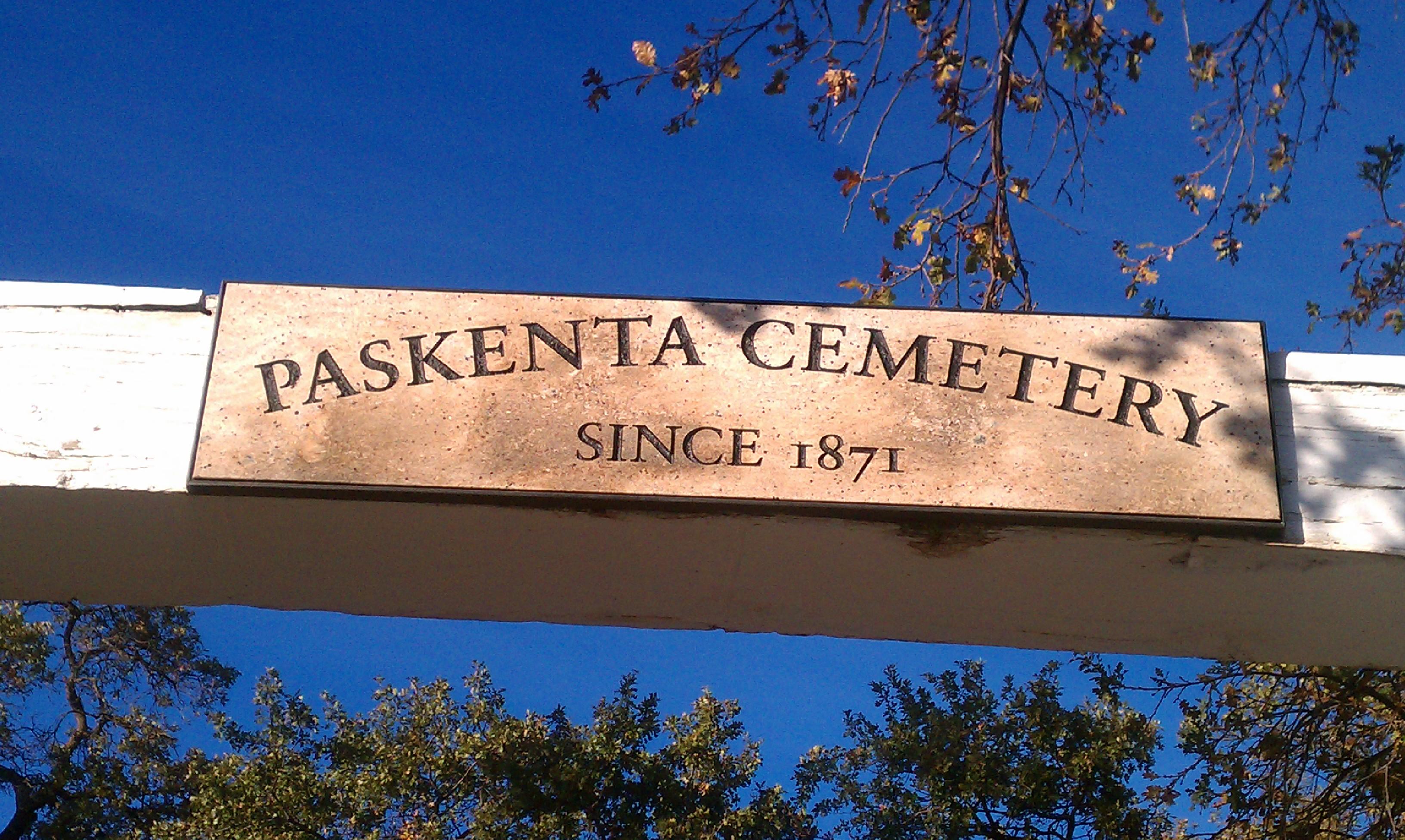 Paskenta Cemetery