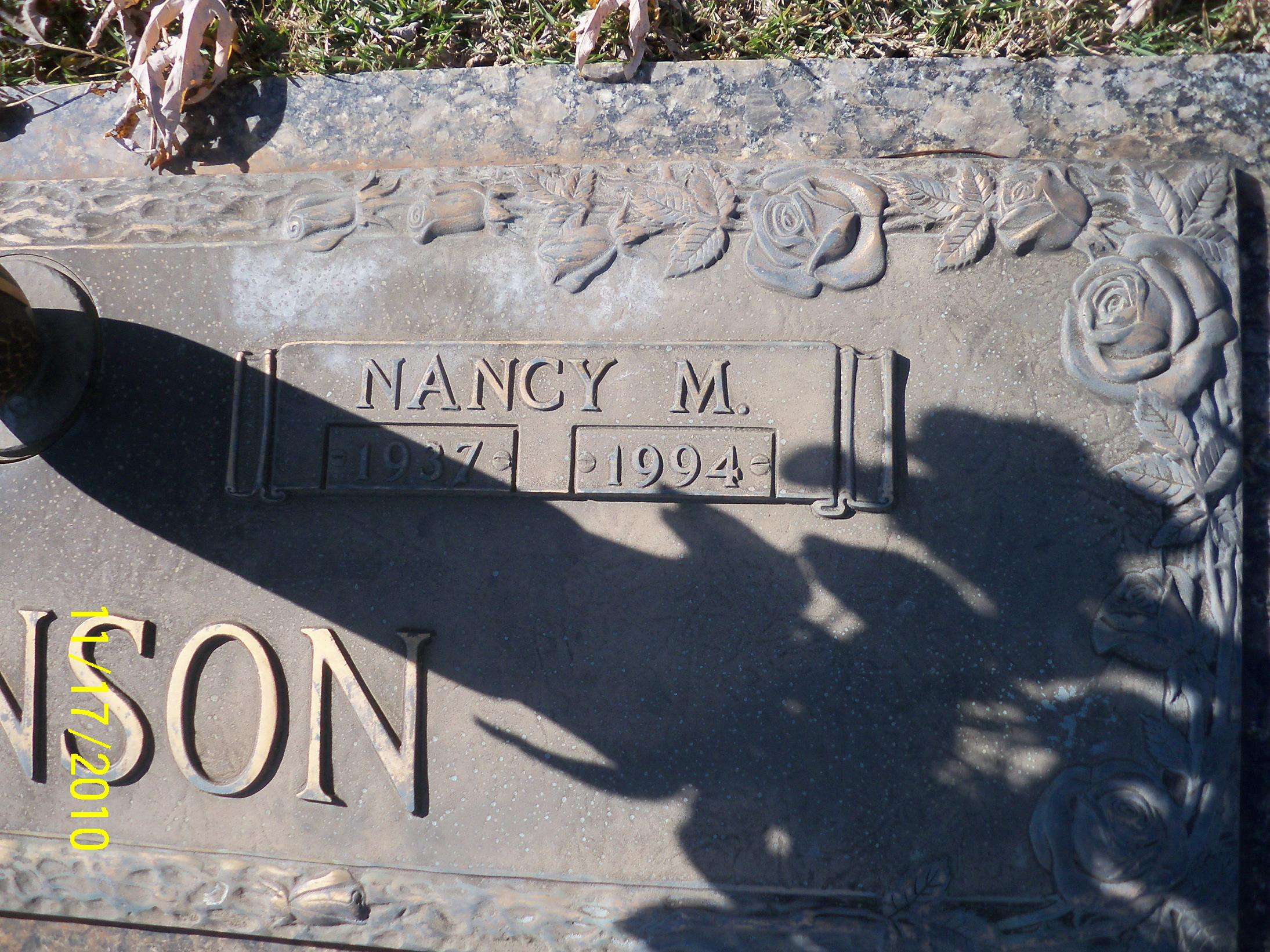 Nancy Marlene <i>Komer</i> Johnson