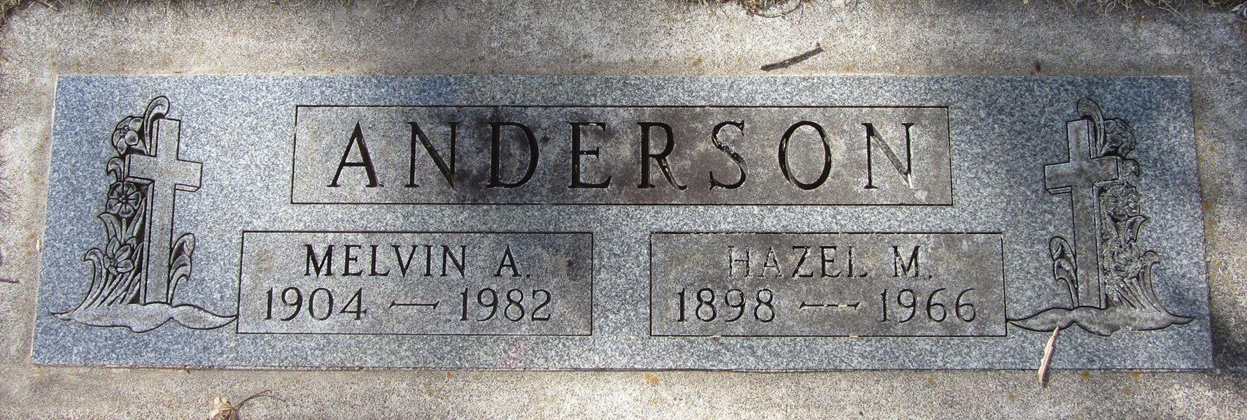 Hazel M <i>Madsen</i> Anderson