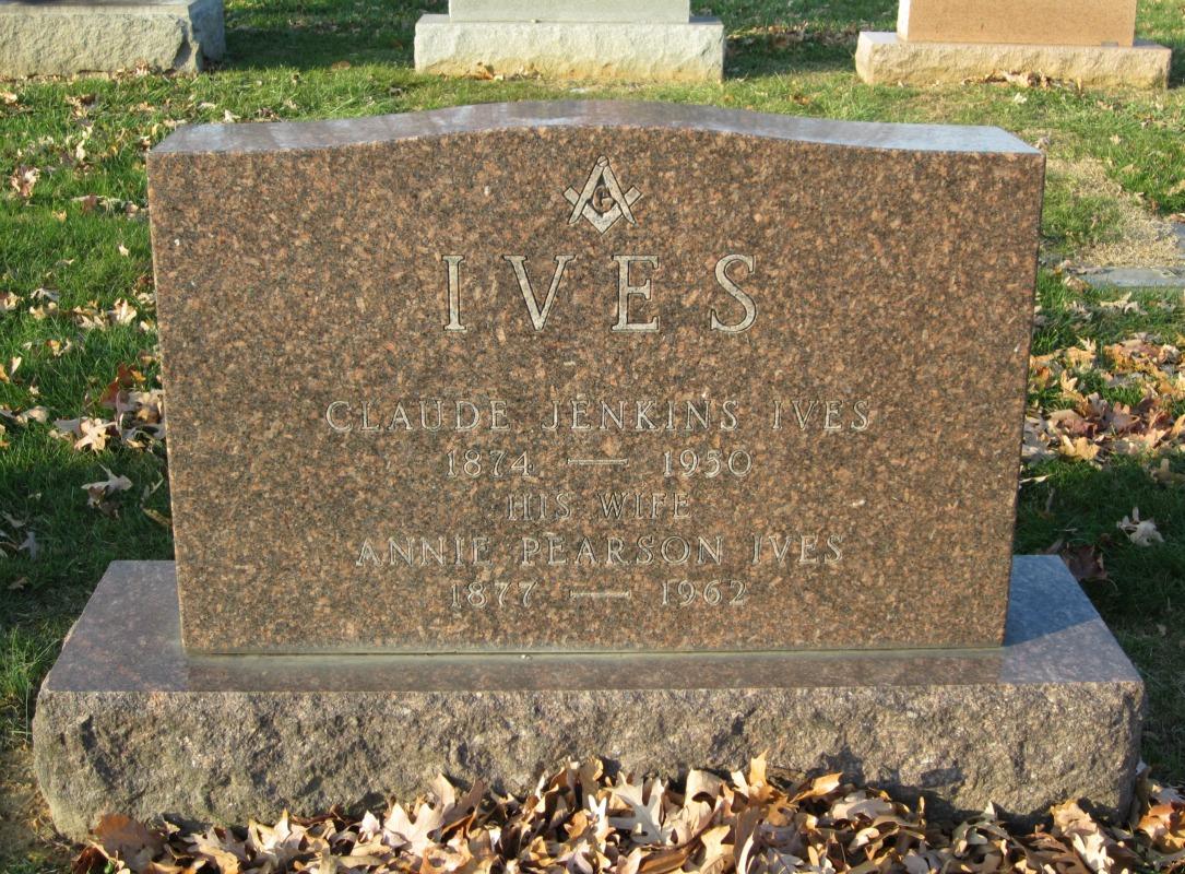 Annie E. Pearson Ives (1877-1962) - Find A Grave Memorial