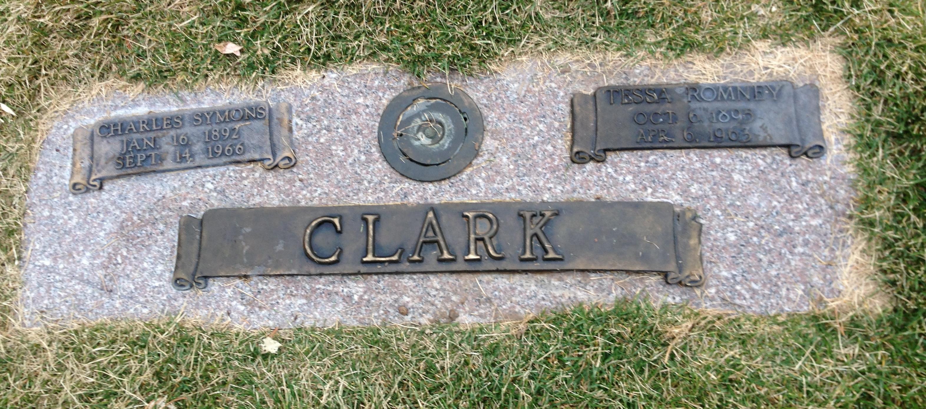 Tessa <i>Romney</i> Clark