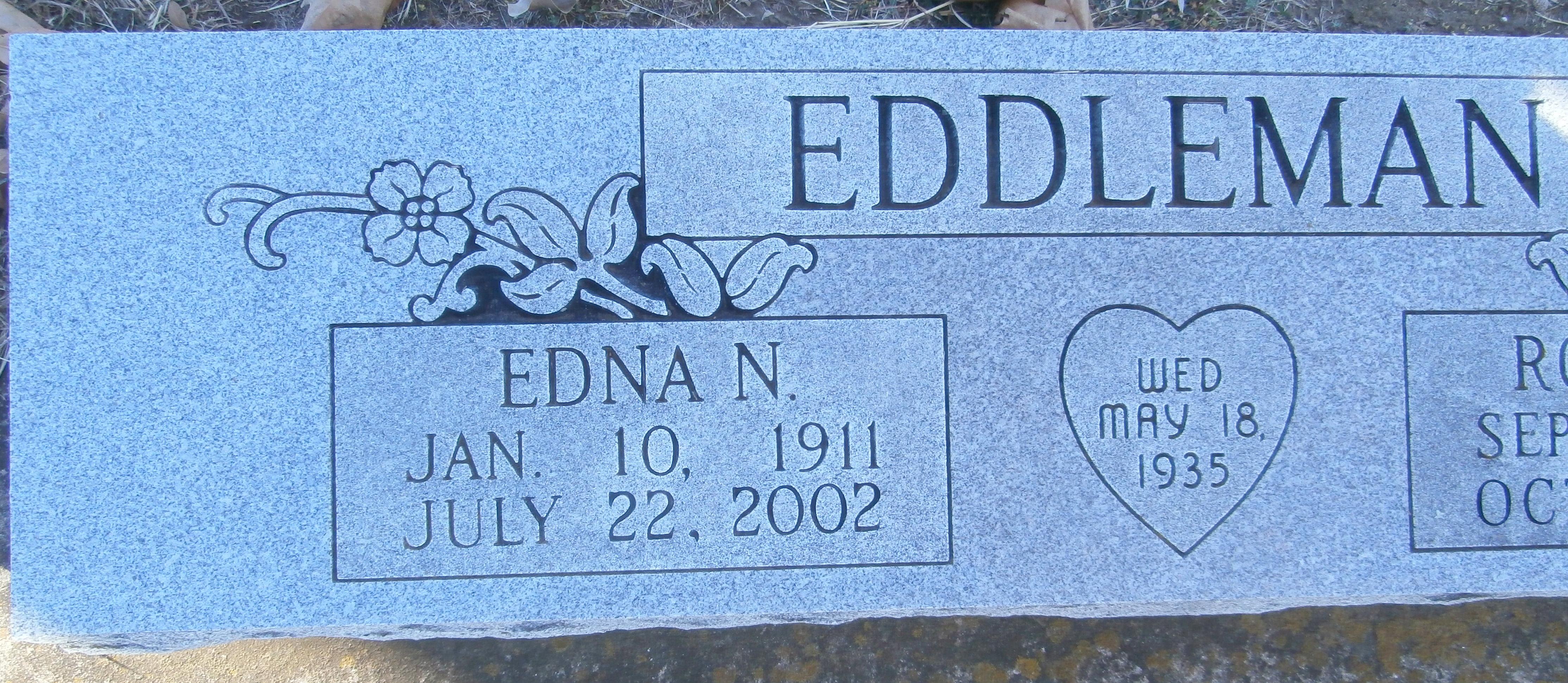 Edna Norene <i>Black</i> Eddleman
