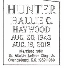 Hallie C. <i>Haywood</i> Hunter