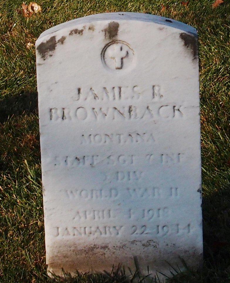 SSGT James R Brownback