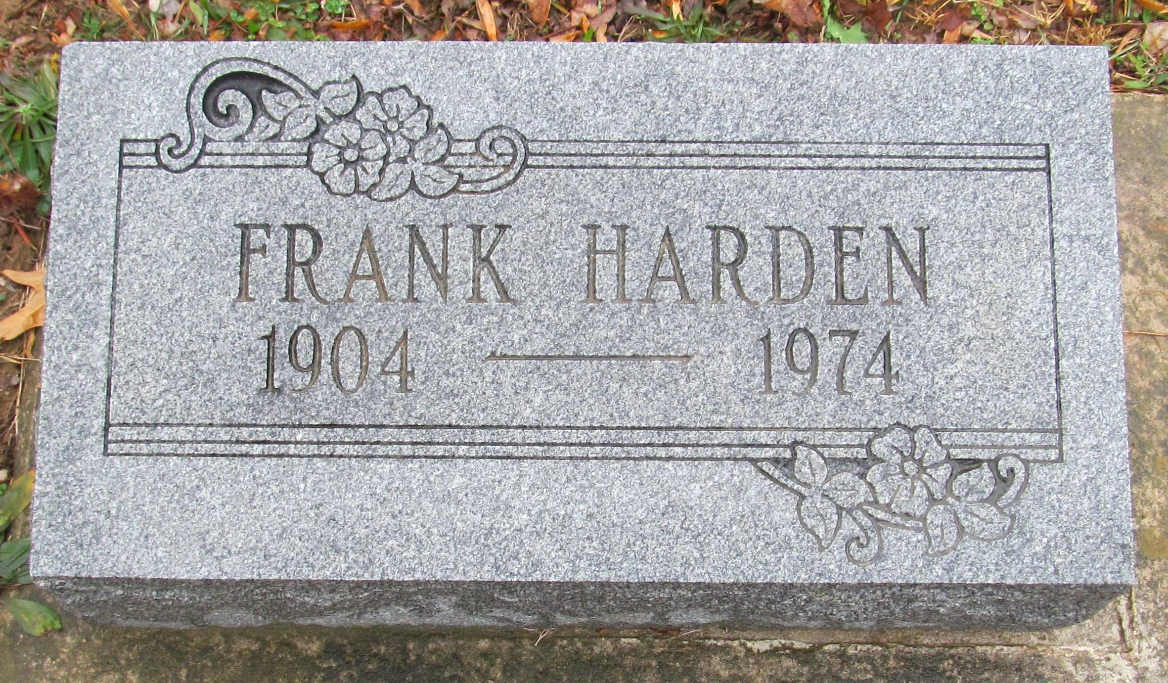 Frank Harden