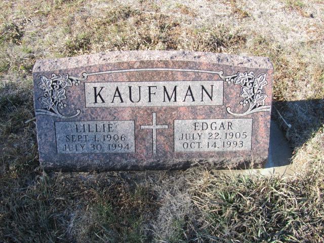 Lillie <i>Senner</i> Kaufman