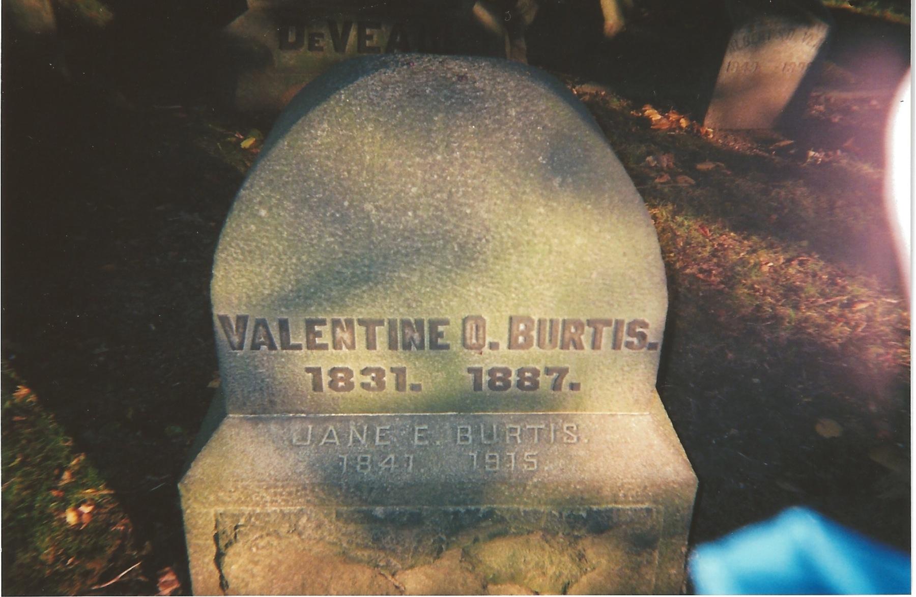 Valentine Odell Burtis