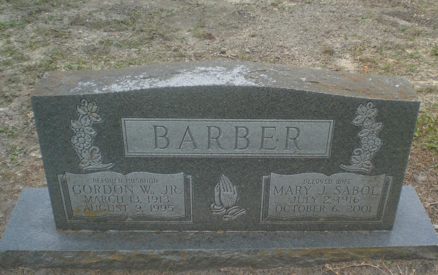 Mary J <i>Sabol</i> Barber