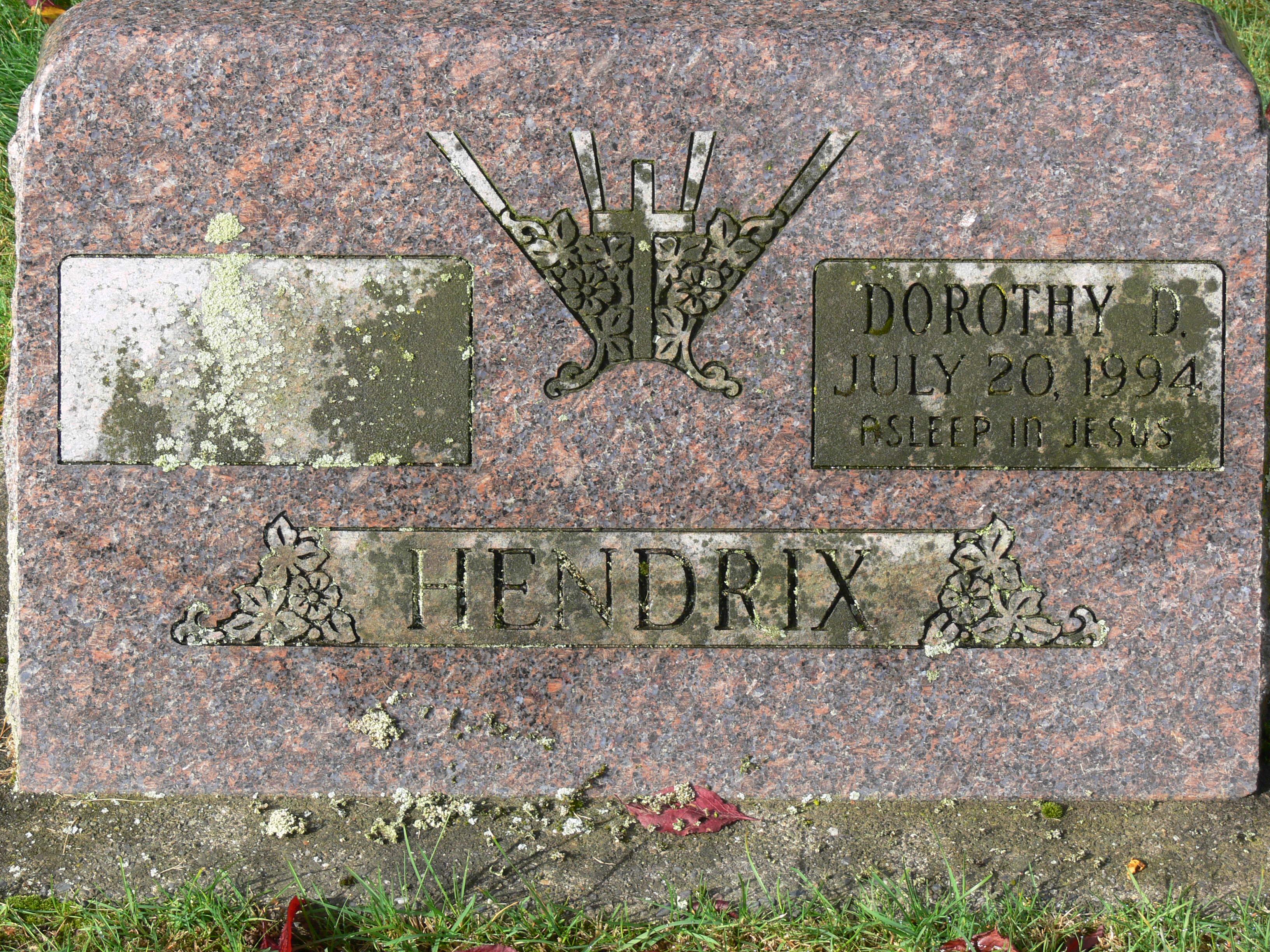 Dorothy Delilah <i>Acuff</i> Hendrix