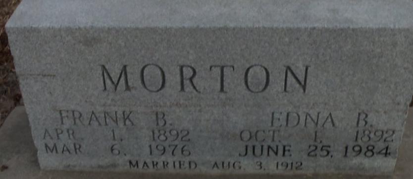 Frank B Morton
