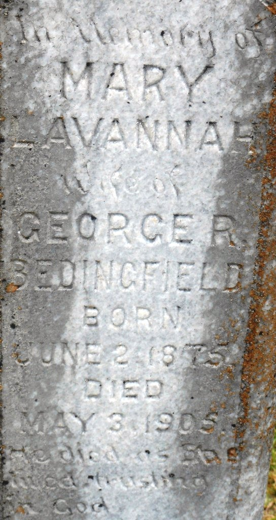 Mary Lavannah <i>Harrison</i> Bedingfield