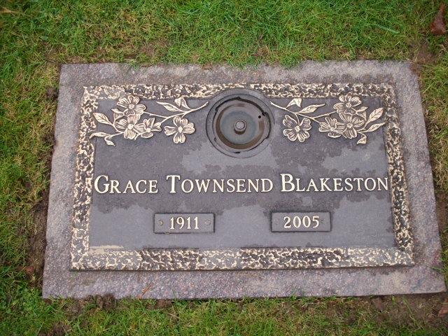 Grace Townsend <i>Smedley</i> Blakeston