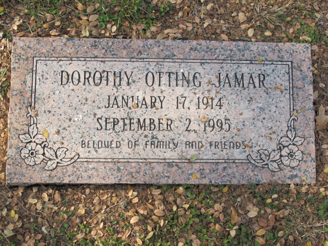 Dorothy Faith <i>Otting</i> Jamar