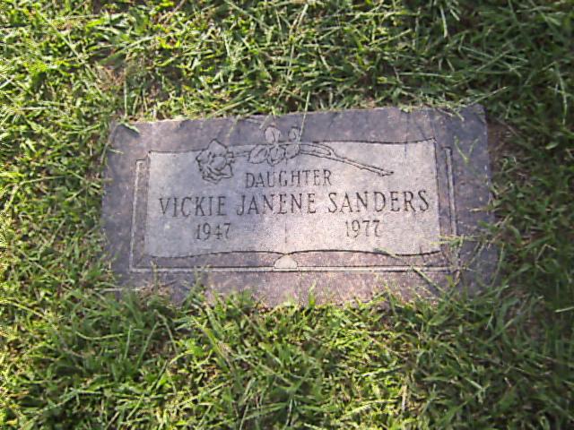 Vickie J <i>Cartwright</i> Sanders