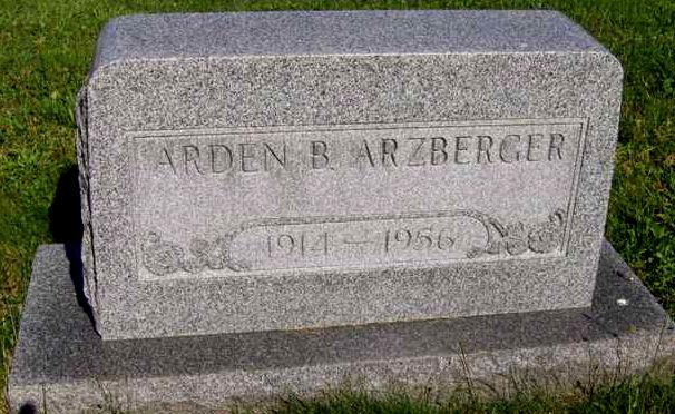 Arden B Arzberger