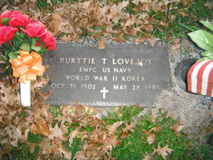Burttie T Lovejoy