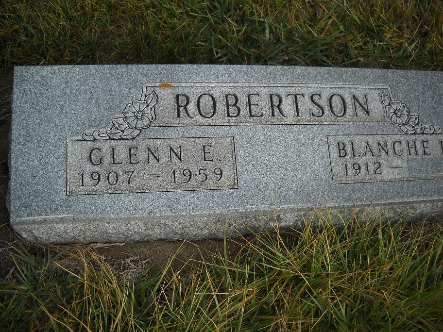 Glenn Elmer Robertson