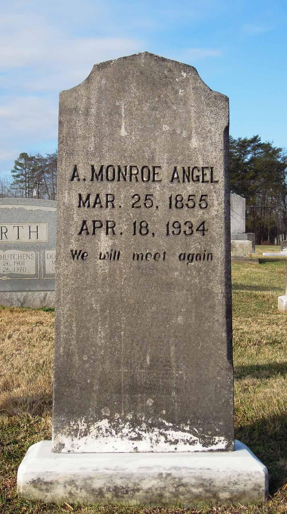 Andrew Monroe Andy Angel