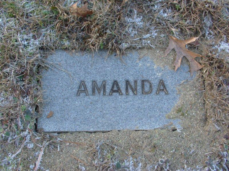 Amanda <i>Partridge</i> Allen