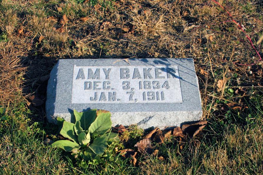 Amy <i>George</i> Baker