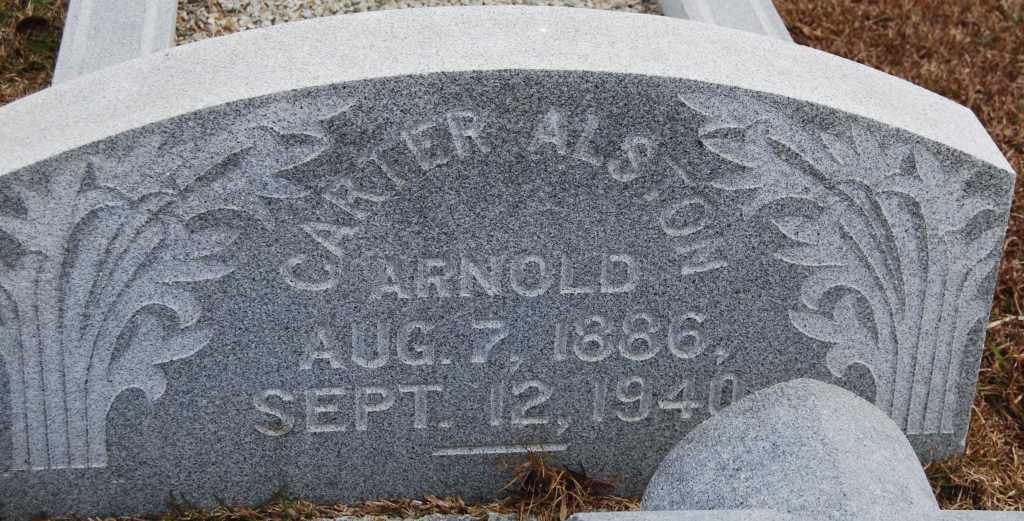 Carter Alston Arnold