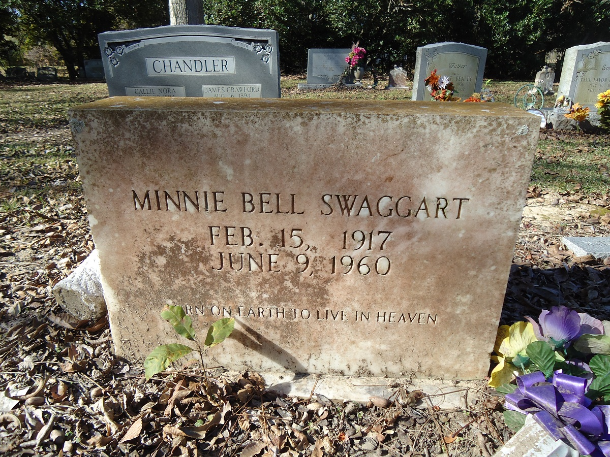 Minnie Bell Herron Swaggart (1917-1960) - Find A Grave Memorial