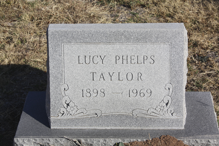 Lucy Frances <i>Phelps</i> Taylor