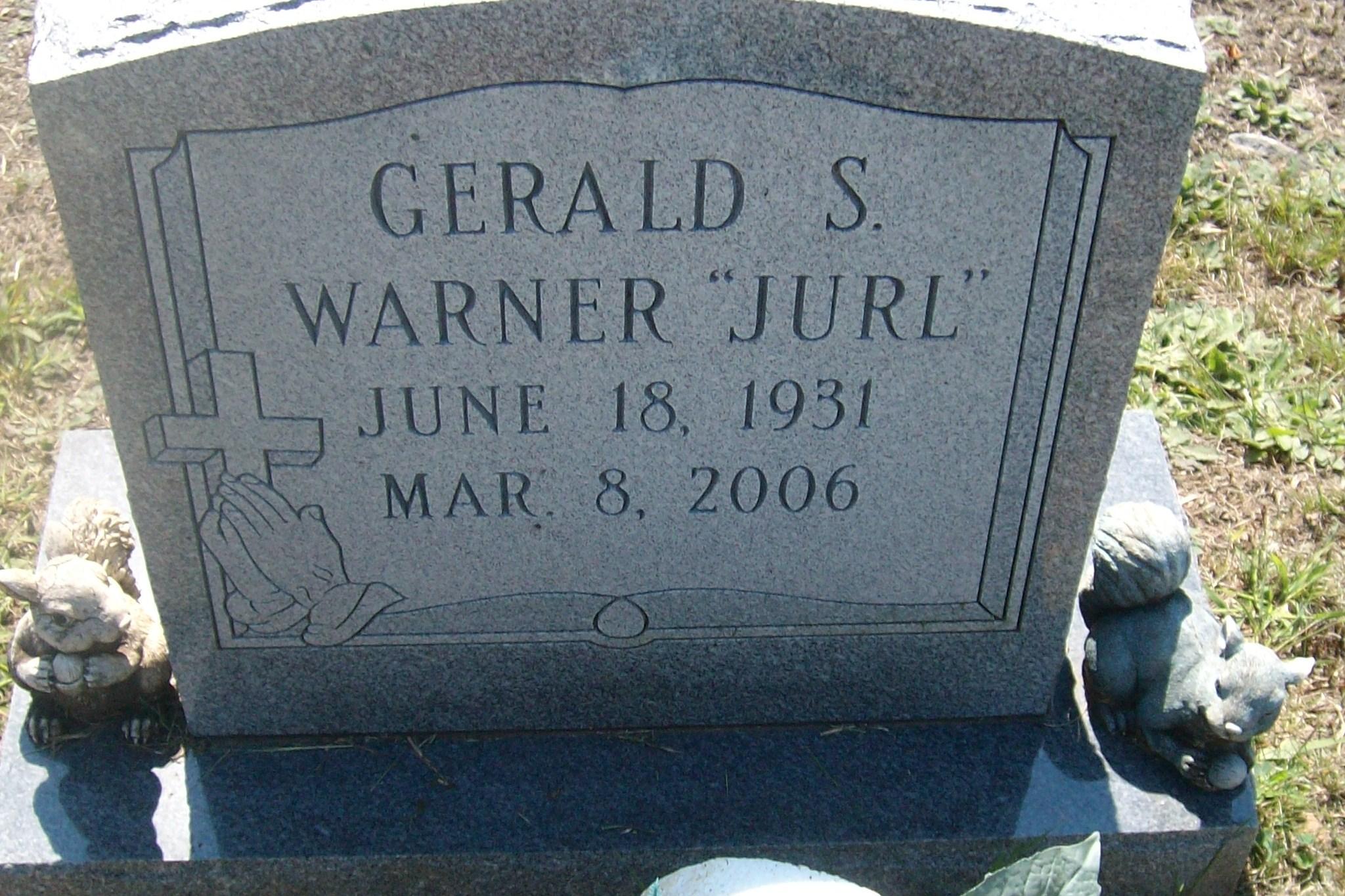 Gerald Salem Jurl Warner Find A Grave Memorial