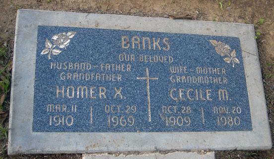 Homer X. Banks