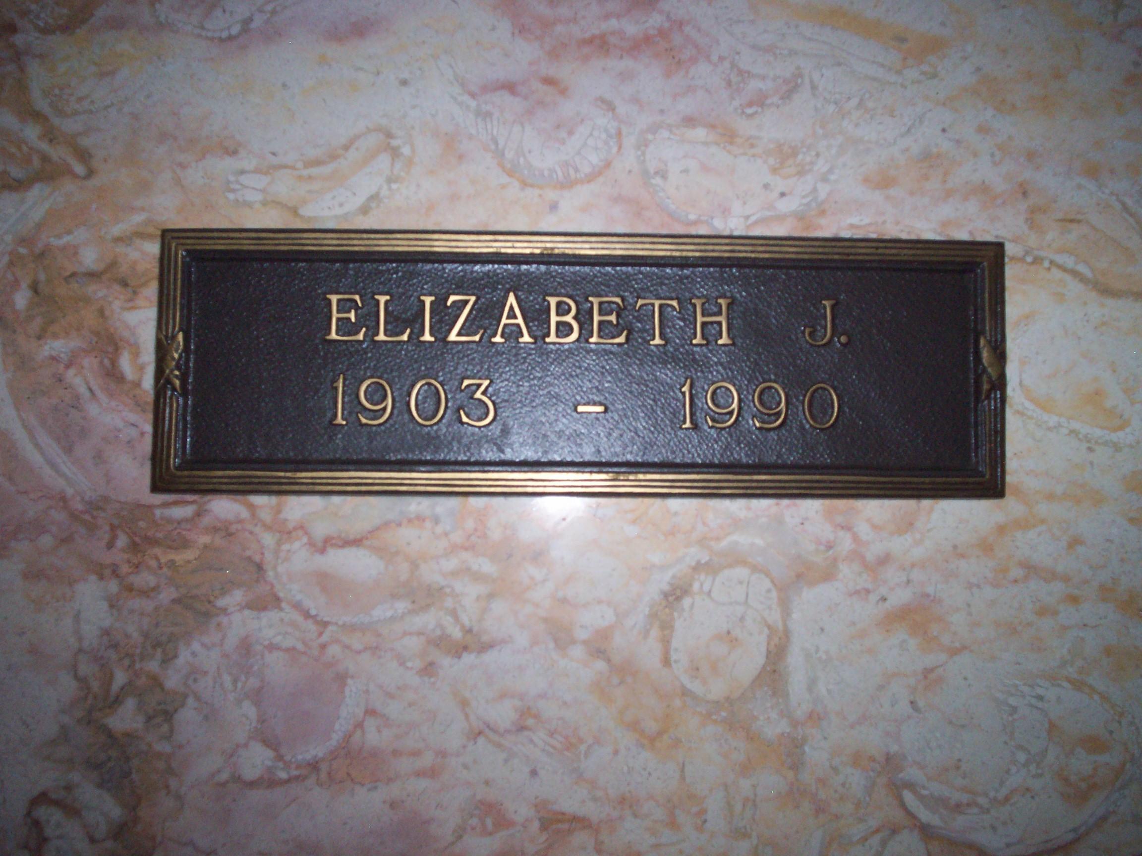 Elizabeth J Beth Hadley