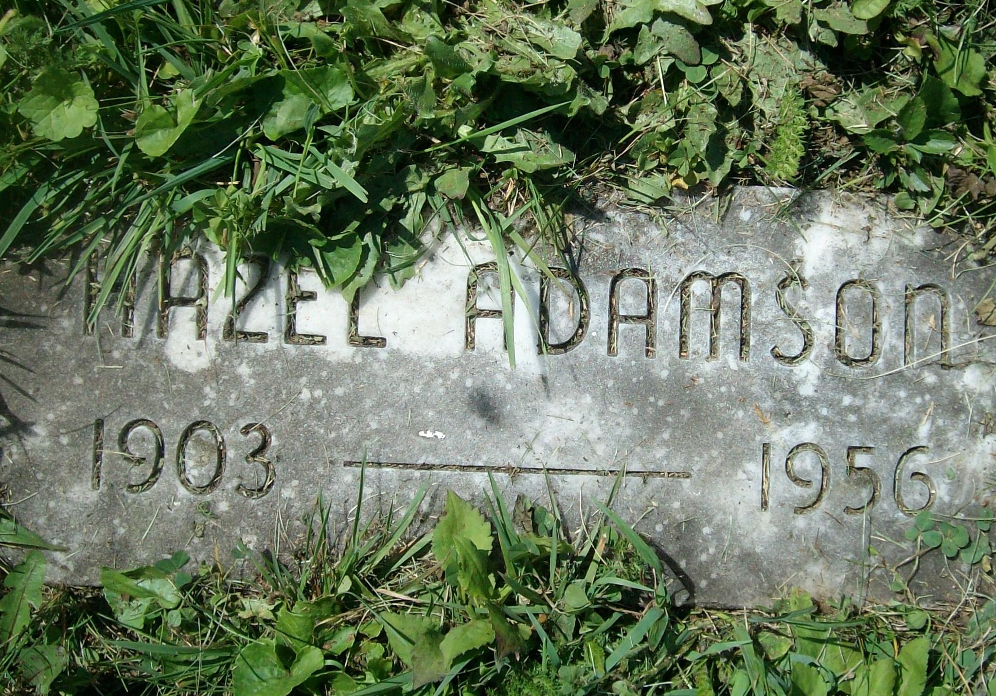 Hazel Adamson