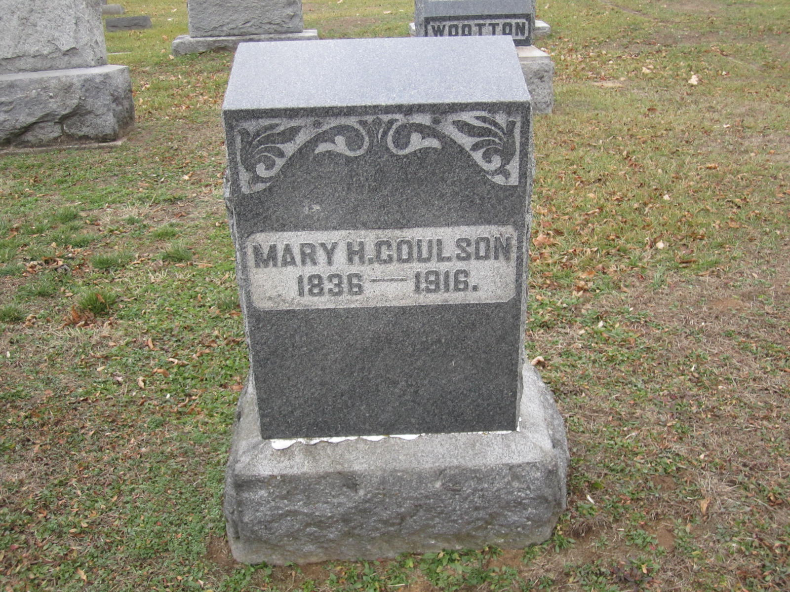 Mary Henrietta <i>Outcalt</i> Coulson