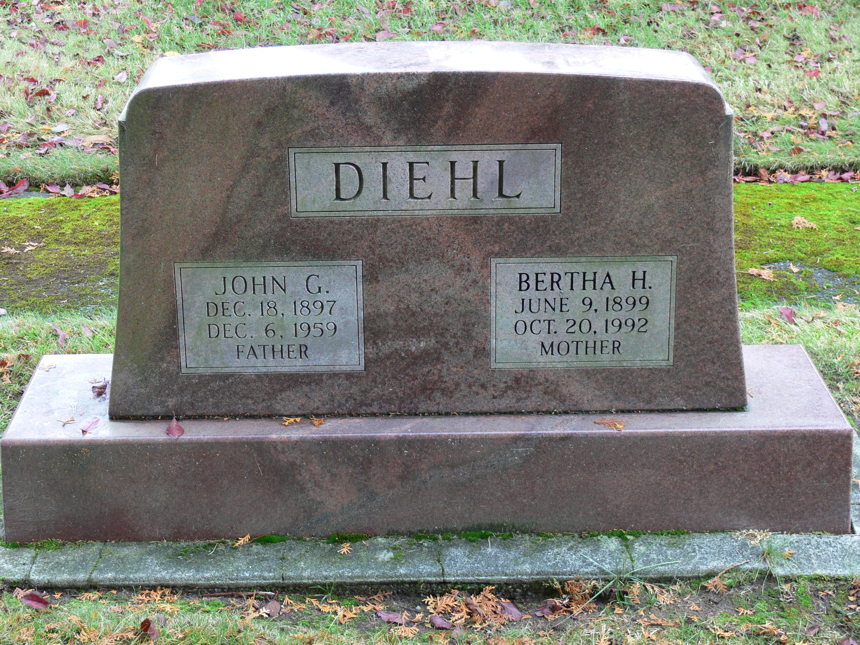 John G Diehl