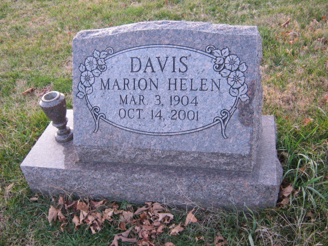 Marion Helen Davis
