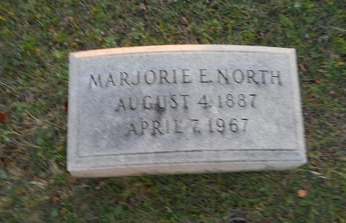 Marjorie E North