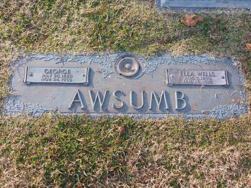 Ella <i>Wells</i> Awsumb