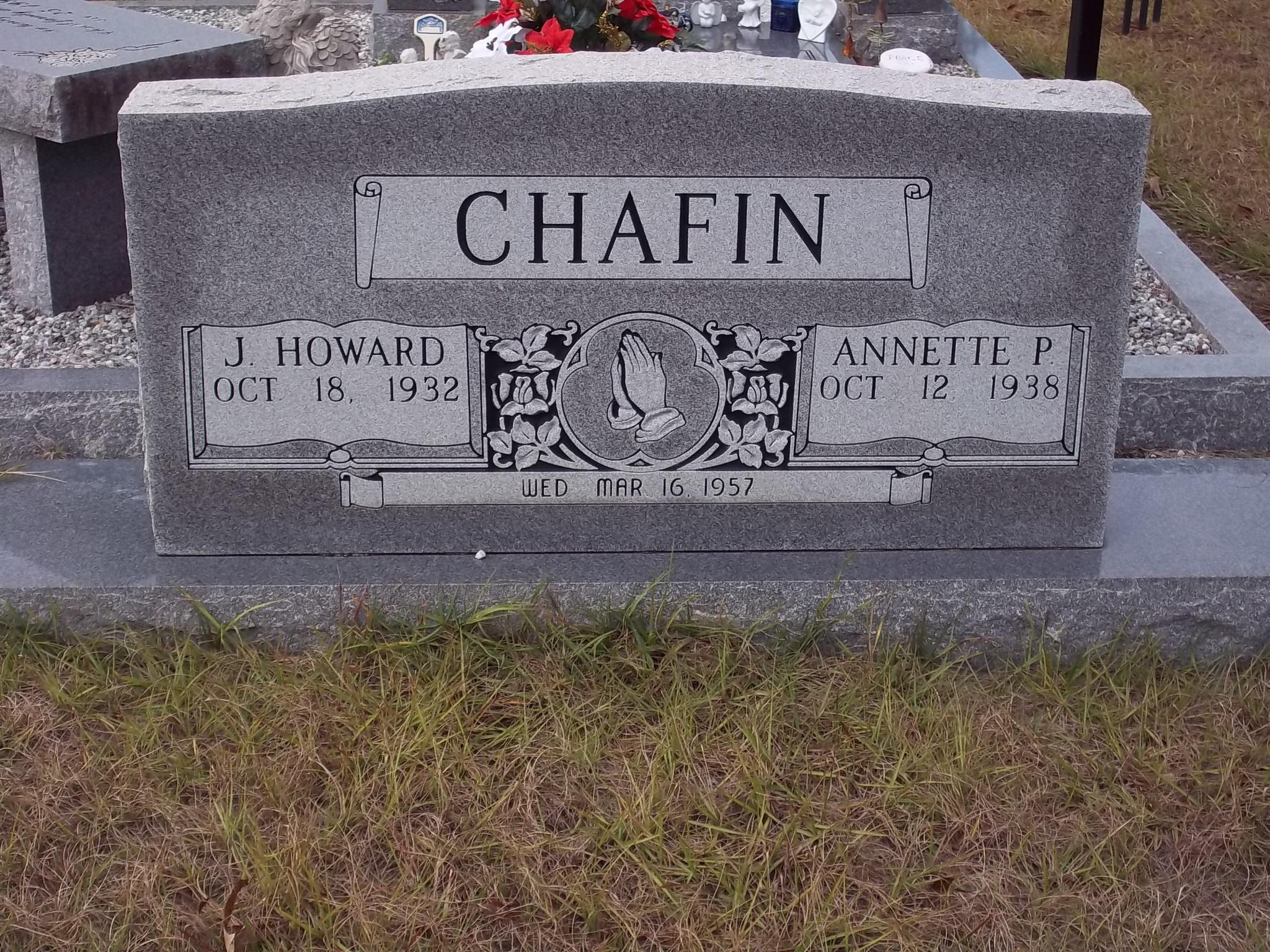 J Howard Chafin
