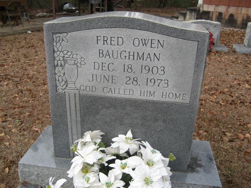 Fred Owen Baughman