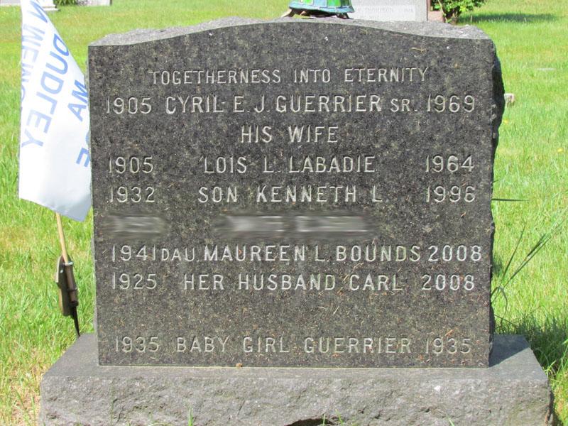 Lois L <i>Labadie</i> Guerrier